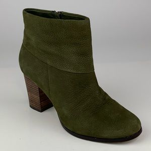 Cole Haan Ankle Boots Leather High Heel Air 6.5B